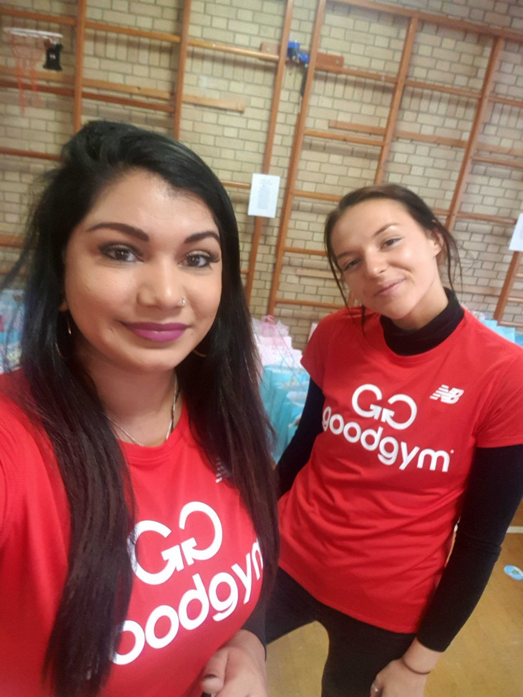 Aly & Lauras charity challenge