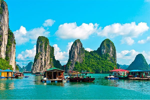 Top places to visit in 2018 - Halong Bay