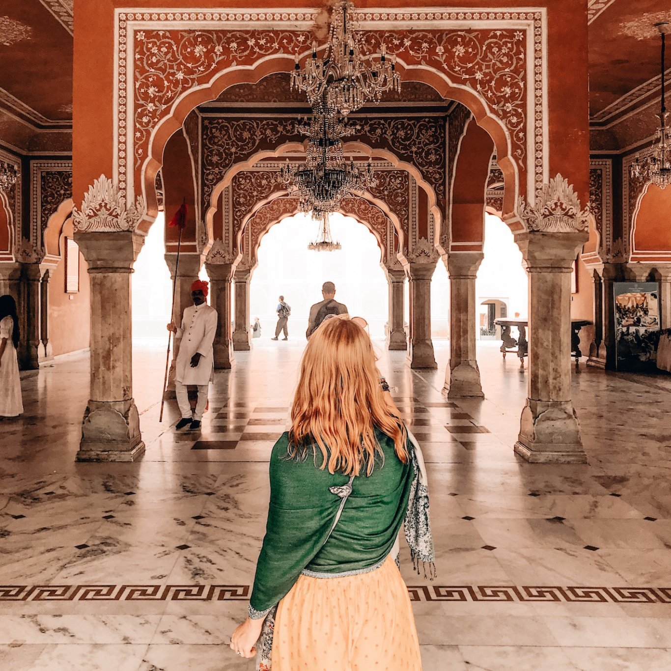 Tips for travelling India - Temple visit, Jaipur