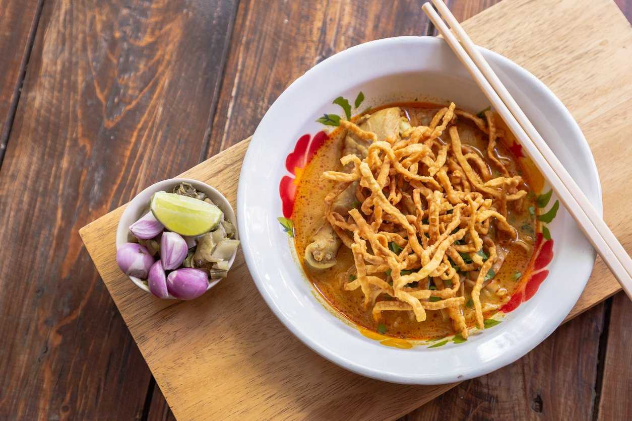 Thai food, noodle soup
