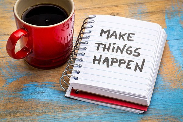 New Year - Make things happen