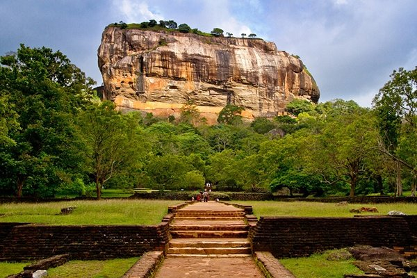 View of Sigiriya Rock, Sri Lanka