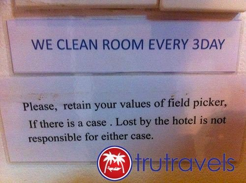 Thai-Cleaning-Sign-Funny-TruTravels