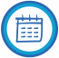 small icon of Calendar