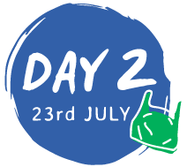 day 2 - 23rd July