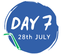 day 7 - 28th July