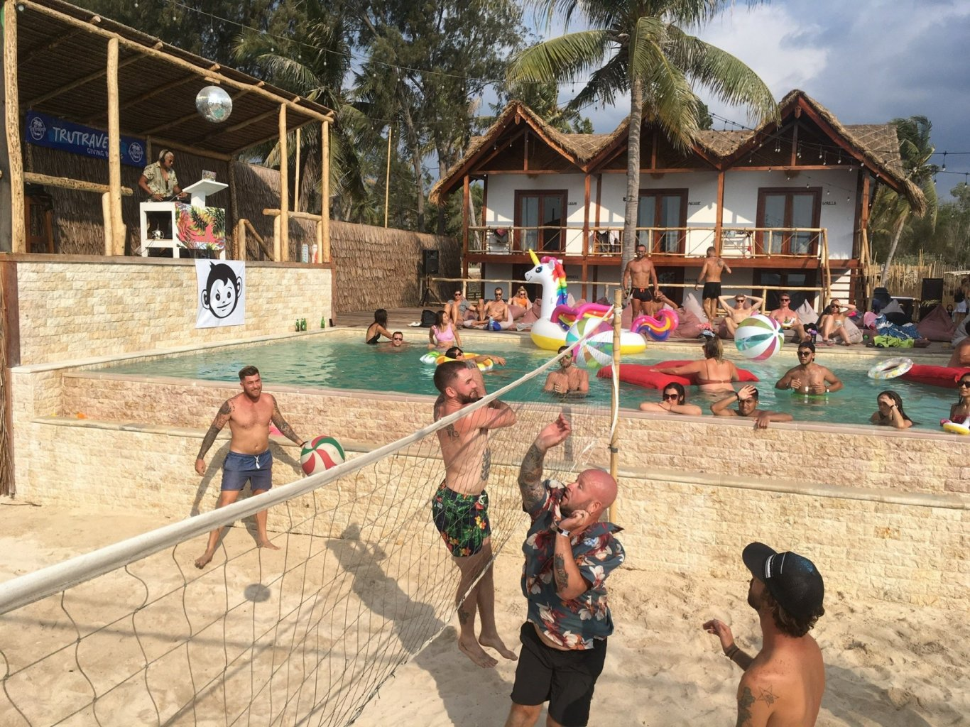 Gili Eco Trust Pool Party