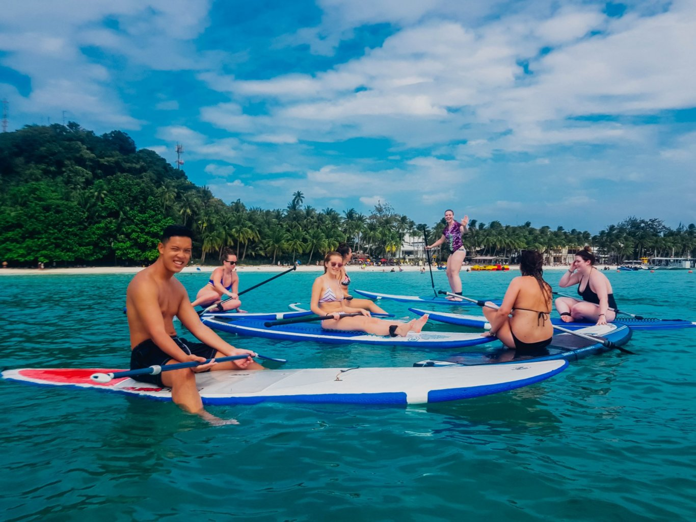 Siargao Island in the Philippines is one of Asia's best spots for watersports