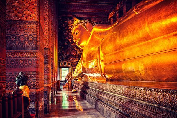 A week in Thailand - temple touring - wat pho