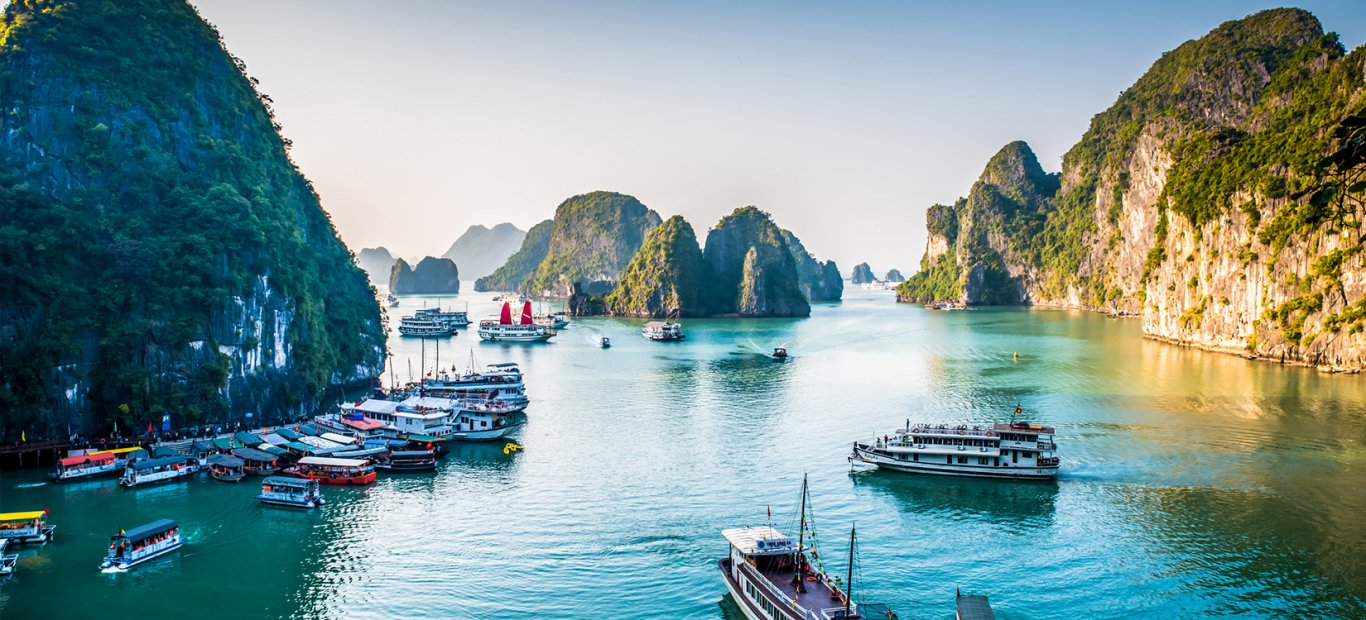 View point of Halong bay, Vietnam